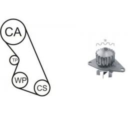 Set curea distributie cu pompa apa AIRTEX
