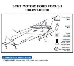 Scut metalic motor ASAM