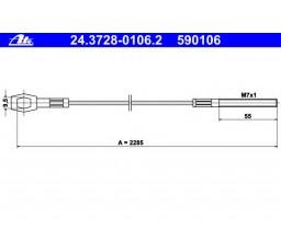 Cablu ambreiaj ATE