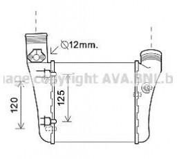 Radiator intercooler AVA