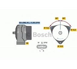 Generator / alternator BOSCH