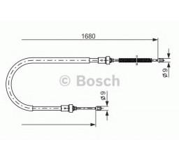 Cablu frana mana