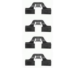 Set accesorii placute frana BREMBO