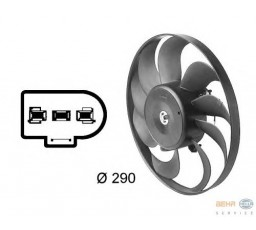 Ventilator aer conditionat HELLA