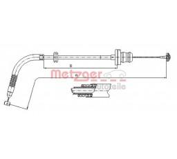 Cablu acceleratie METZGER