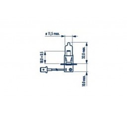 Bec H3 / 55W NARVA
