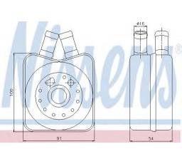 Radiator racire ulei motor NISSENS