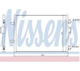 Condensator climatizare NISSENS