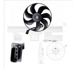 Ventilator radiator TYC