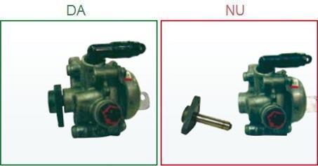 Pompele de servodirectie cu axul rupt nu sunt acceptate ca piese la schimb