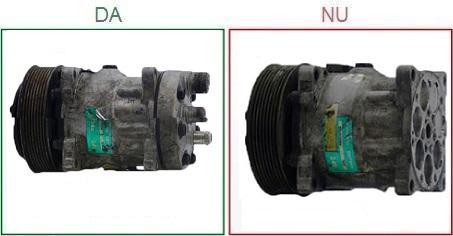 Compresoarele de clima cu capacul posterior lipsa nu sunt acceptate ca piese la schimb