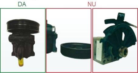 Pompele de servodirectie cu fulia deteriorata nu sunt acceptate ca piese la schimb