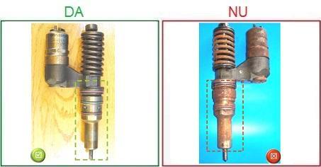 Injectoarele ruginite nu sunt acceptate ca piese la schimb