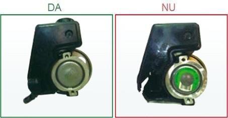 Pompele de servodirectie cu rezervorul deteriorat nu sunt acceptate ca piese la schimb