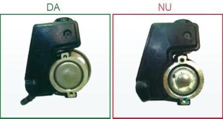 Pompele de servodirectie cu tubul de intrare deteriorat nu sunt acceptate ca piese la schimb