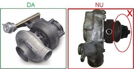 Turbosuflantele incomplete sau dezasamblate nu sunt acceptate ca piese la schimb